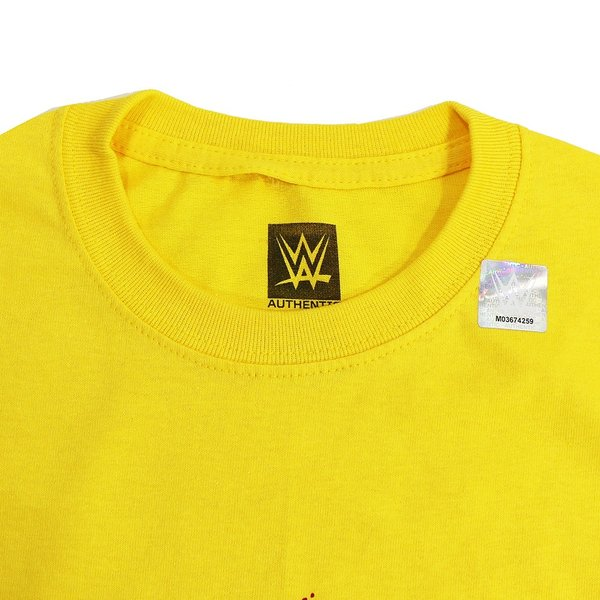 Tシャツ WWE Hulk Hogan(ハルク・ホーガン) Hulkamania イエロー|bdrop|04