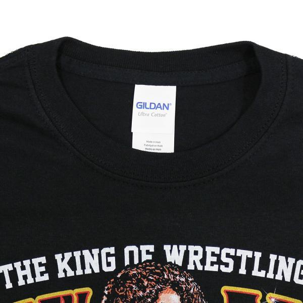 Tシャツ WWE Harley Race(ハーリー・レイス) The King of Wrestling ブラック bdrop 04