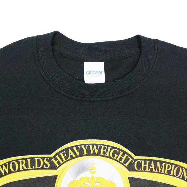 Tシャツ WWE Harley Race(ハーリー・レイス) Worlds Heavyweight Champion ブラック|bdrop|04