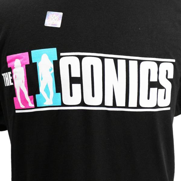 Tシャツ WWE The IIconics(ジ・アイコニックス) Billie and Peyton ブラック|bdrop|02