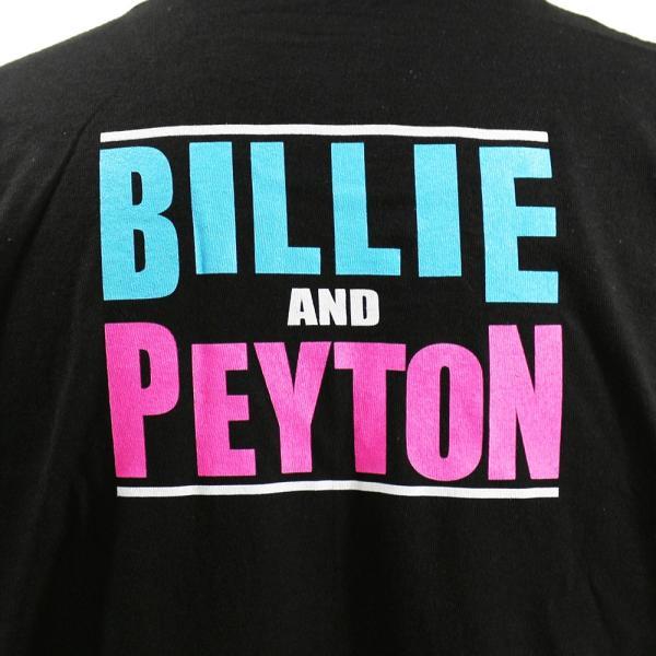 Tシャツ WWE The IIconics(ジ・アイコニックス) Billie and Peyton ブラック|bdrop|05