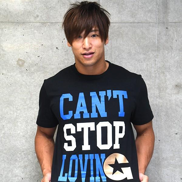 新日本プロレス NJPW 飯伏幸太「CAN'T STOP」Tシャツ|bdrop|03