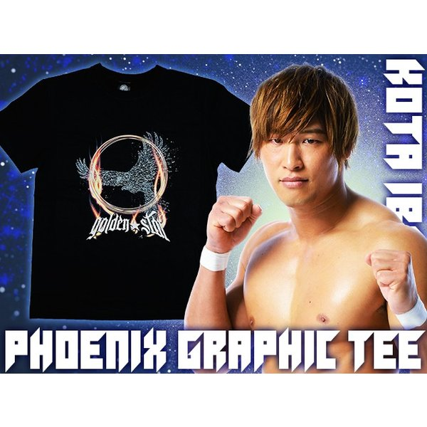 Tシャツ 新日本プロレス NJPW 飯伏幸太「PHOENIX GRAPHIC」 bdrop 03