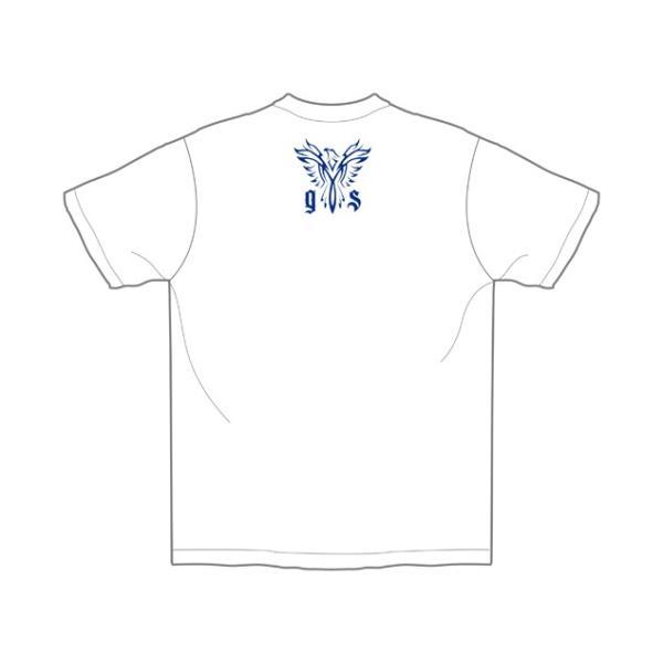新日本プロレス NJPW 飯伏幸太「PHOENIX」Tシャツ(ホワイト) bdrop 03