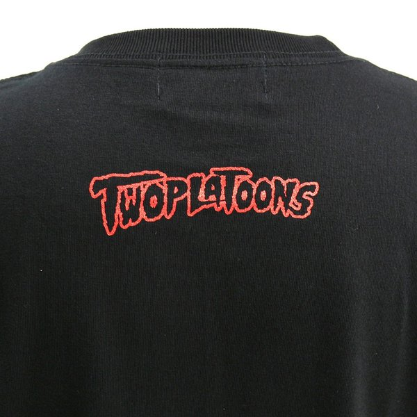 Tシャツ Legends TWOPLATOONS × アイアン・シーク コラボレーション ブラック|bdrop|05