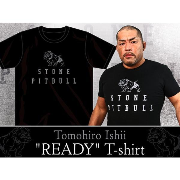 新日本プロレス NJPW 石井智宏「READY」Tシャツ|bdrop|02