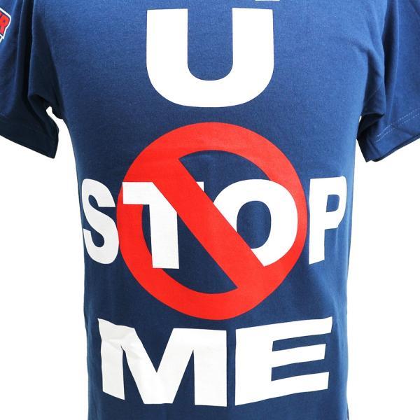 WWE John Cena (ジョン・シナ) U Cant Stop Me ネイビーTシャツ|bdrop|02