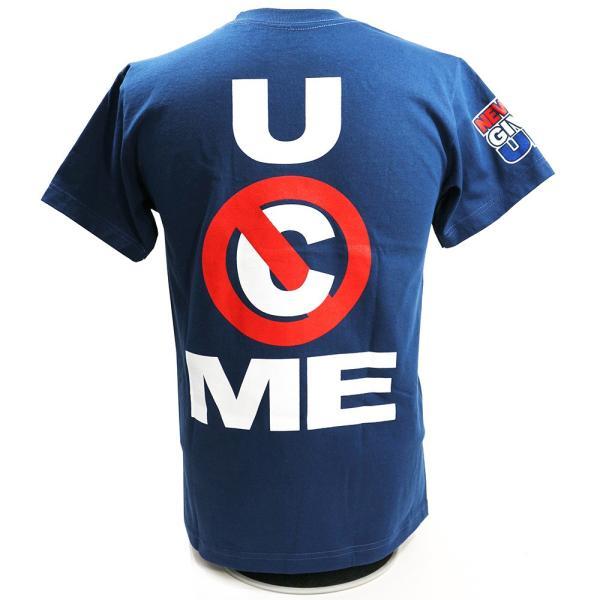 WWE John Cena (ジョン・シナ) U Cant Stop Me ネイビーTシャツ|bdrop|05