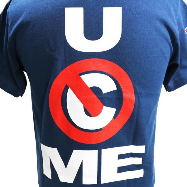 WWE John Cena (ジョン・シナ) U Cant Stop Me ネイビーTシャツ|bdrop|06