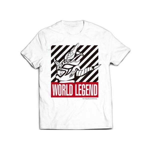 新日本プロレス NJPW 獣神サンダー・ライガー「WORLD LEGEND」Tシャツ(2018)|bdrop