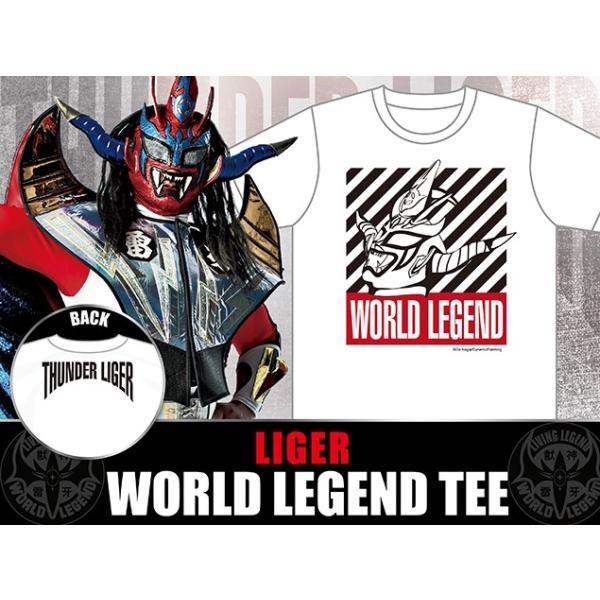 新日本プロレス NJPW 獣神サンダー・ライガー「WORLD LEGEND」Tシャツ(2018)|bdrop|05