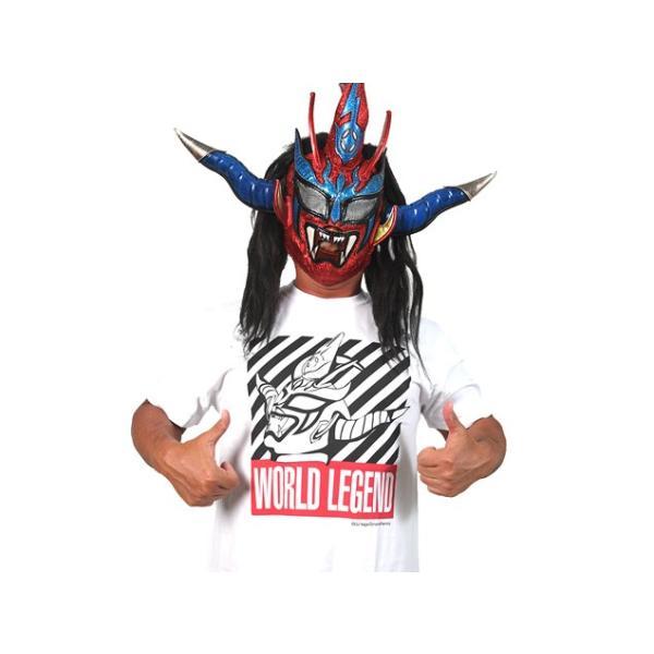 新日本プロレス NJPW 獣神サンダー・ライガー「WORLD LEGEND」Tシャツ(2018)|bdrop|07