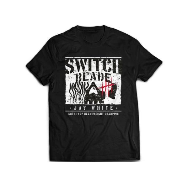 新日本プロレス NJPW ジェイ・ホワイト「BC」Tシャツ bdrop