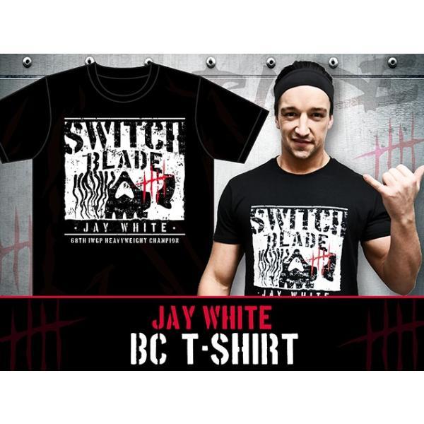新日本プロレス NJPW ジェイ・ホワイト「BC」Tシャツ bdrop 02