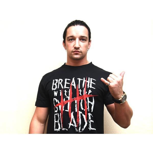 新日本プロレス NJPW ジェイ・ホワイト「BREATHE」Tシャツ|bdrop|04