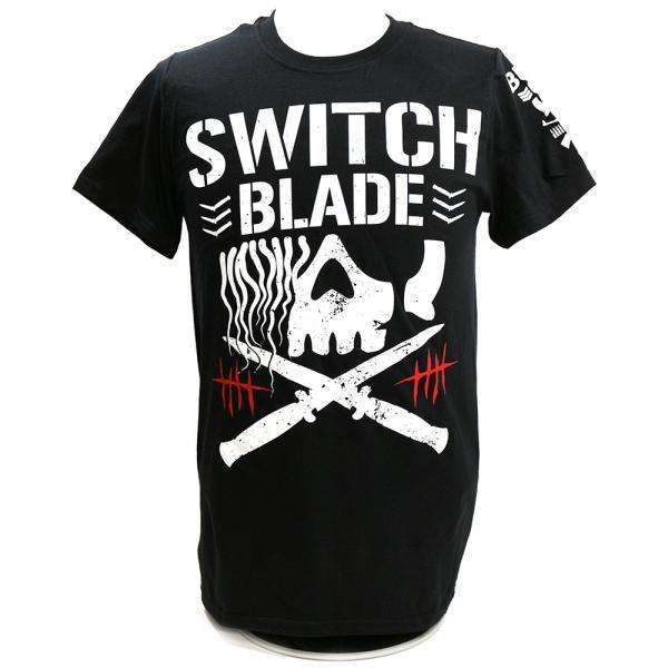 輸入版:新日本プロレス NJPW ジェイ・ホワイト Switchblade BC ブラックTシャツ bdrop