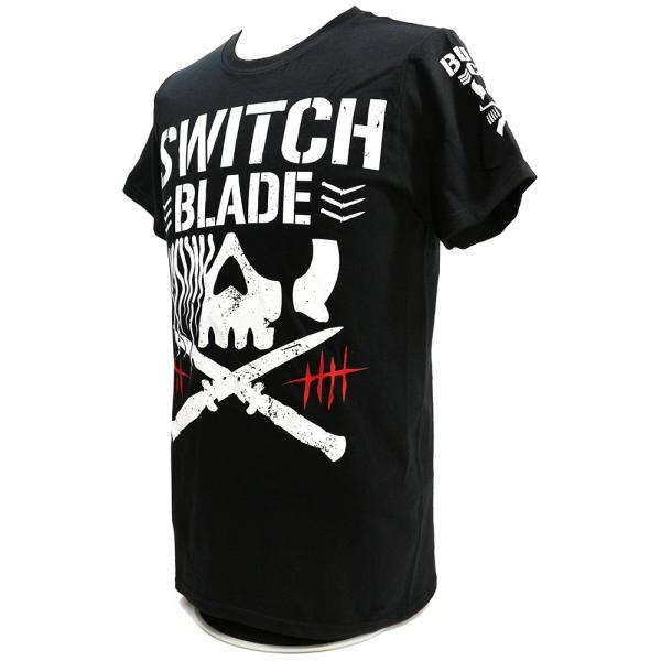 輸入版:新日本プロレス NJPW ジェイ・ホワイト Switchblade BC ブラックTシャツ bdrop 02