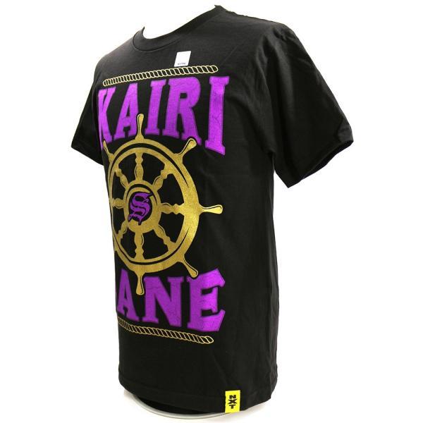 WWE Kairi Sane(カイリ・セイン) NXT ブラックTシャツ bdrop 03