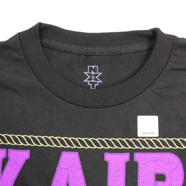 WWE Kairi Sane(カイリ・セイン) NXT ブラックTシャツ bdrop 06