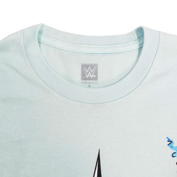 Tシャツ WWE Kairi Sane(カイリ・セイン) Rob Schamberger Art Print スカイブルー bdrop 04