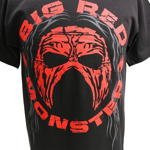 WWE Kane(ケイン) Big Red Monster ブラックTシャツ bdrop 02