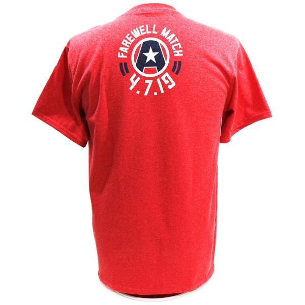 WWE Kurt Angle(カート・アングル) Thank You レッドTシャツ|bdrop|04