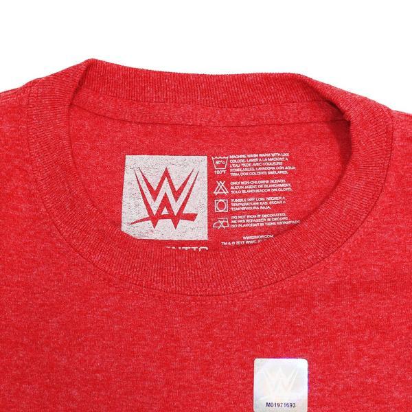 WWE Kurt Angle(カート・アングル) Thank You レッドTシャツ|bdrop|06