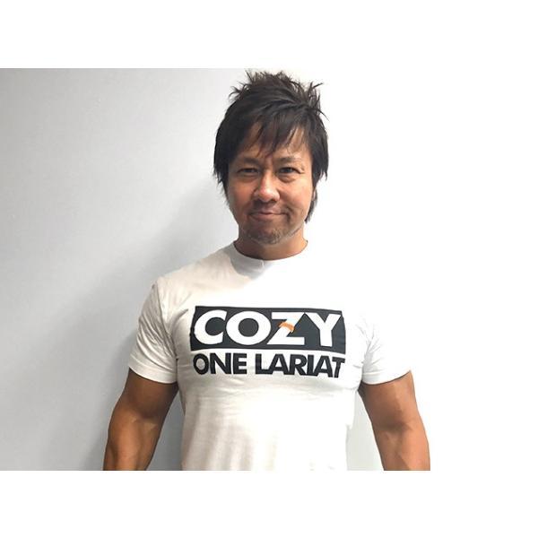新日本プロレス NJPW 小島聡「COZY IS BACK」Tシャツ|bdrop|03