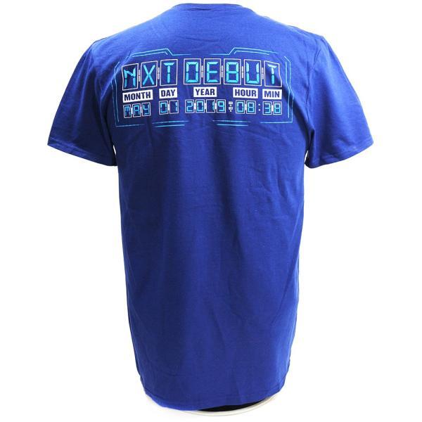 Tシャツ WWE Kushida(クシダ) NXT ネイビー bdrop 04