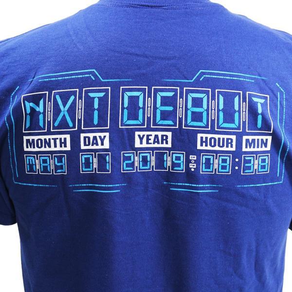 Tシャツ WWE Kushida(クシダ) NXT ネイビー bdrop 05