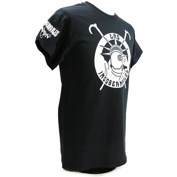 Tシャツ US版:新日本プロレス NJPW ロス・インゴベルナブレス・デ・ハポン NYC ブラック|bdrop|03