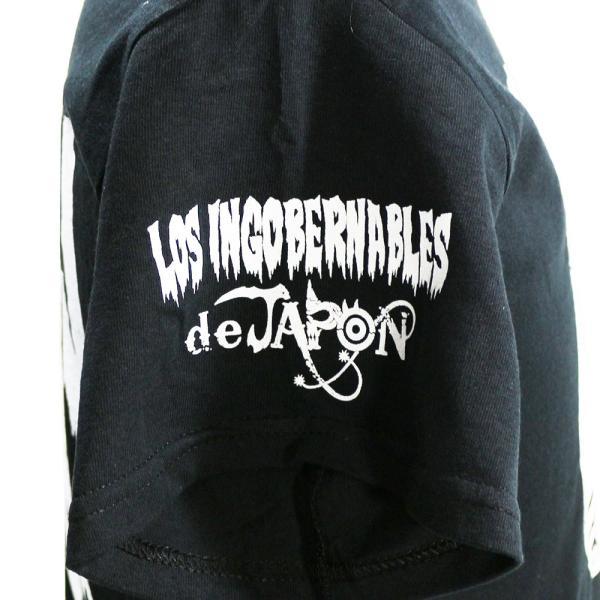 Tシャツ US版:新日本プロレス NJPW ロス・インゴベルナブレス・デ・ハポン NYC ブラック|bdrop|04