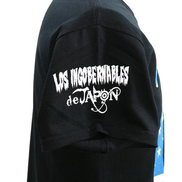 Tシャツ US版:新日本プロレス NJPW ロス・インゴベルナブレス・デ・ハポン USA2 ブラック|bdrop|04