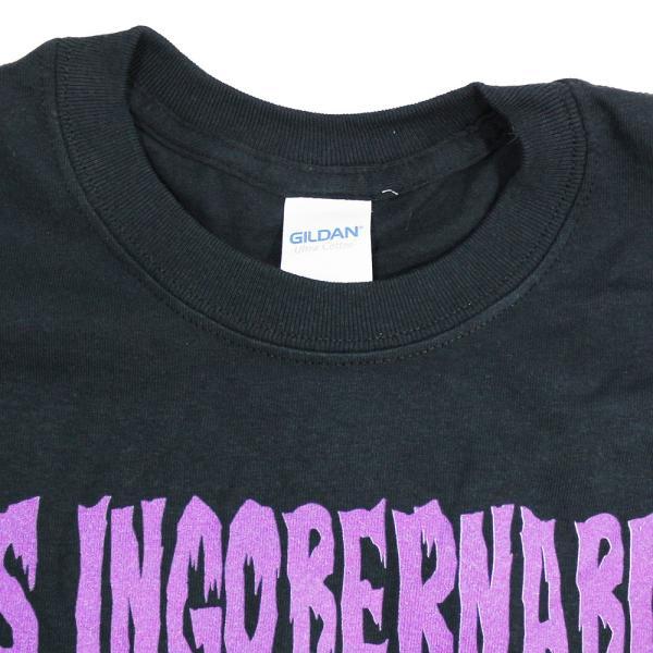 Tシャツ US版:新日本プロレス NJPW ロス・インゴベルナブレス・デ・ハポン Purple ブラック|bdrop|04