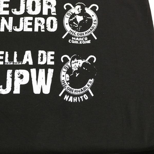 XXLサイズ:Tシャツ 新日本プロレス/NJPW 内藤哲也 ロス・インゴベルナブレス メキシコカラー|bdrop|06