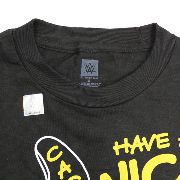 WWE Mick Foley(ミック・フォーリー) Have A Nice Day ブラックTシャツ|bdrop|06
