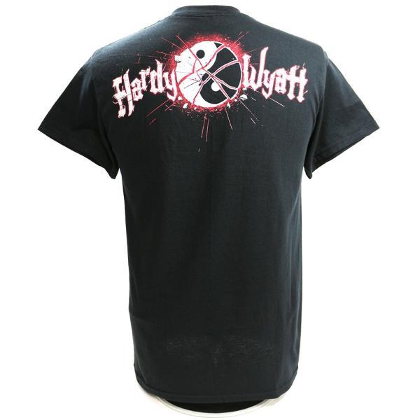 【WWE SummerSale】WWE Matt Hardy & Bray Wyatt(マット・ハーディ/ブレイ・ワイアット) Deleters of Worlds ブラックTシャツ|bdrop|04