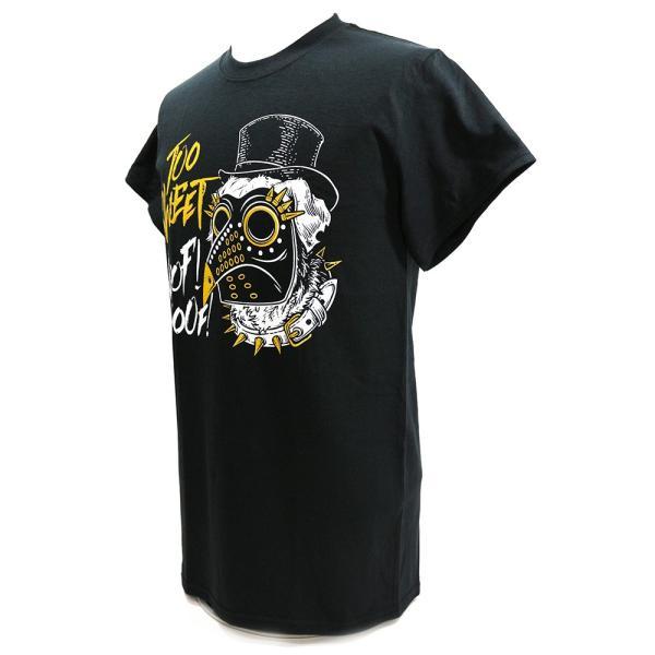 マーティー・スカル Too Sweat ブラックTシャツ|bdrop|03