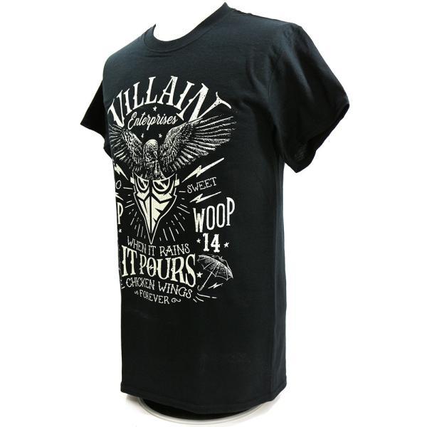 マーティー・スカル Villain Enterprises ブラックTシャツ|bdrop|03
