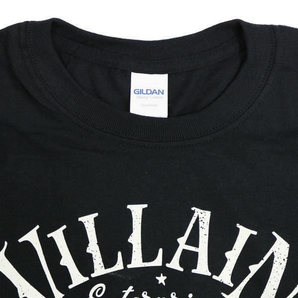マーティー・スカル Villain Enterprises ブラックTシャツ|bdrop|04