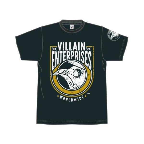 Tシャツ 新日本プロレス NJPW マーティー・スカル「VILLAIN ENTERPRISES WORLDWIDE 2019」|bdrop