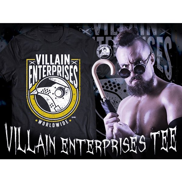 Tシャツ 新日本プロレス NJPW マーティー・スカル「VILLAIN ENTERPRISES WORLDWIDE 2019」|bdrop|02