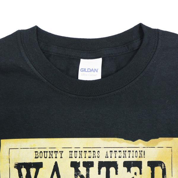 Tシャツ XXLサイズ:Legends Masked Superstar Wanted ブラック|bdrop|04