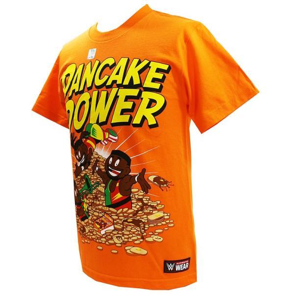 WWE New Day(ニュー・デイ) Pancake Power オレンジTシャツ|bdrop|03