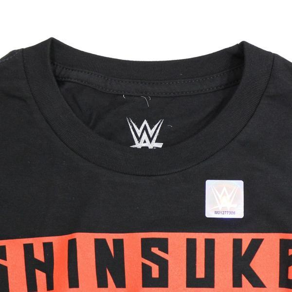 Tシャツ WWE Shinsuke Nakamura (中邑真輔) Main Event ブラック bdrop 06