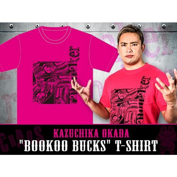 Tシャツ 新日本プロレス NJPW オカダ・カズチカ「bookoo bucks」|bdrop|02