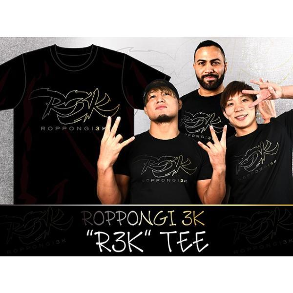新日本プロレス NJPW ROPPONGI 3K 「R3K」Tシャツ|bdrop|02
