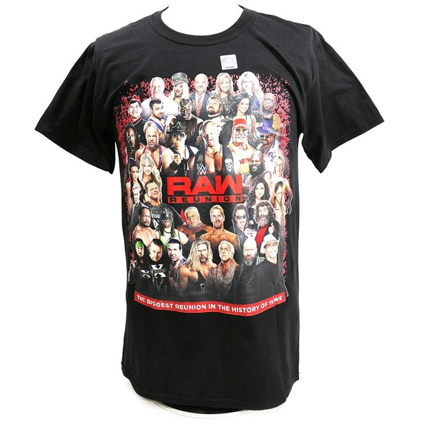 Tシャツ WWE RAW Reunion Event ブラック|bdrop