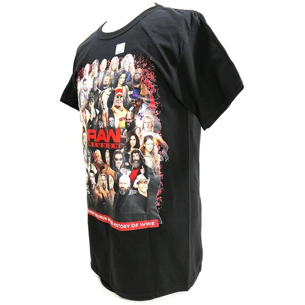 Tシャツ WWE RAW Reunion Event ブラック|bdrop|03