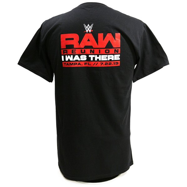 Tシャツ WWE RAW Reunion Event ブラック|bdrop|04
